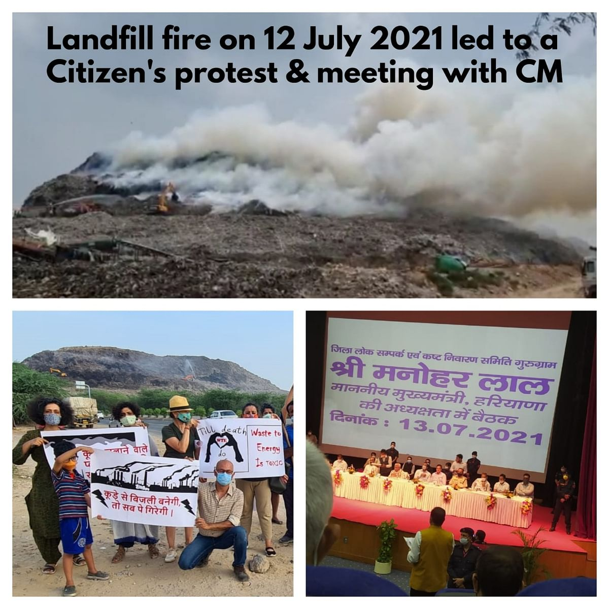 """<div class=""""paragraphs""""><p>Landfire fire in July and consequent protest.</p></div>"""