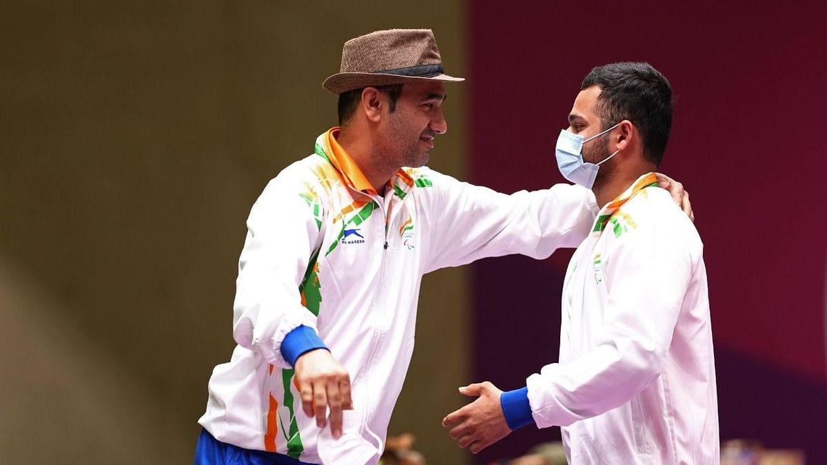 "<div class=""paragraphs""><p>Singhraj Adhana won two medals at the Tokyo Paralympics.</p></div>"