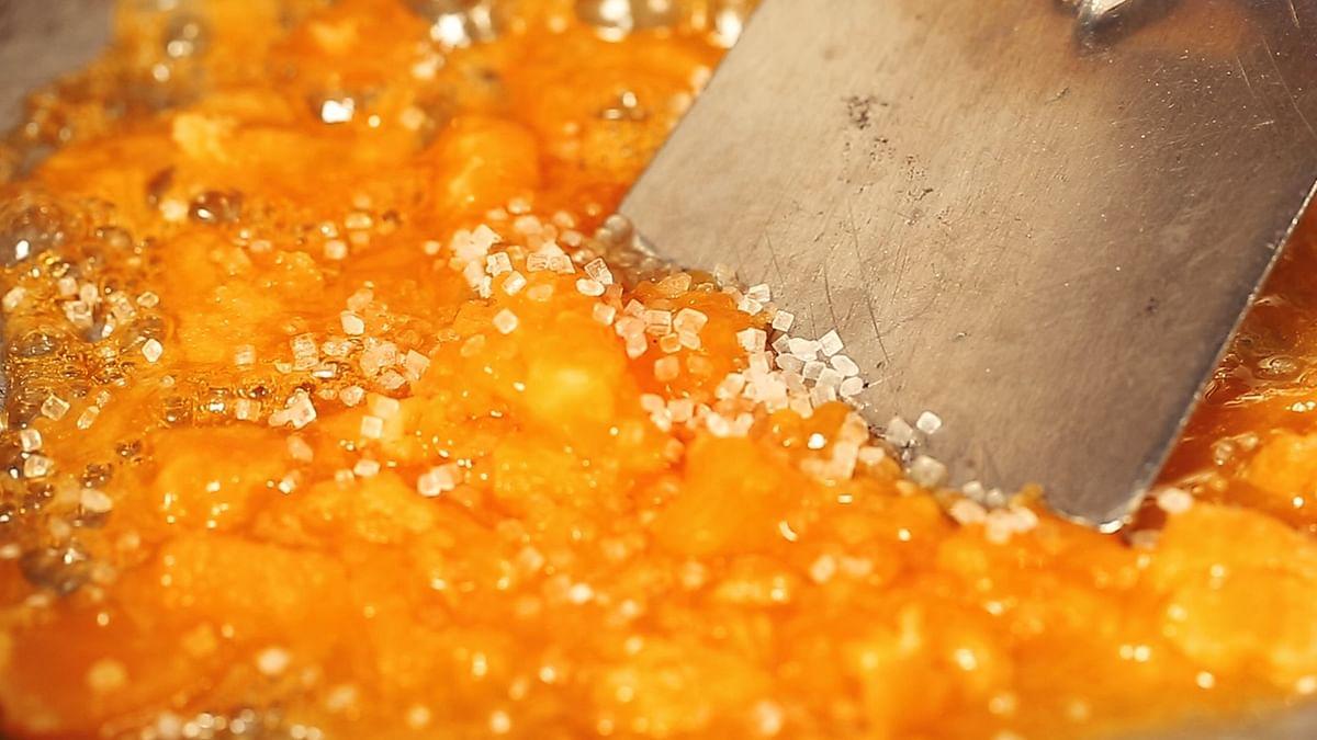 "<div class=""paragraphs""><p>A little sugar adds a little extra sweetness to the modaks.&nbsp;</p></div>"