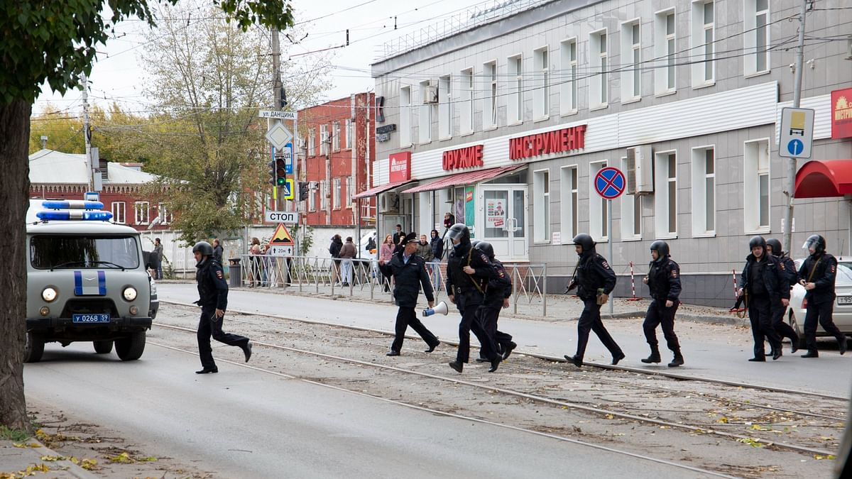 8 Dead, Many Injured After Shooter Opens Fire at University in Russia's Perm