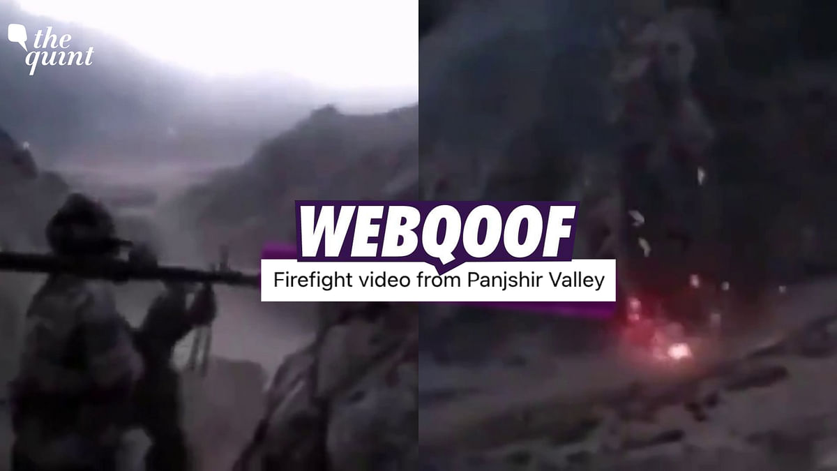 Nearly 7-Year-Old Video Shared as Combat in Afghanistan's Panjshir Valley