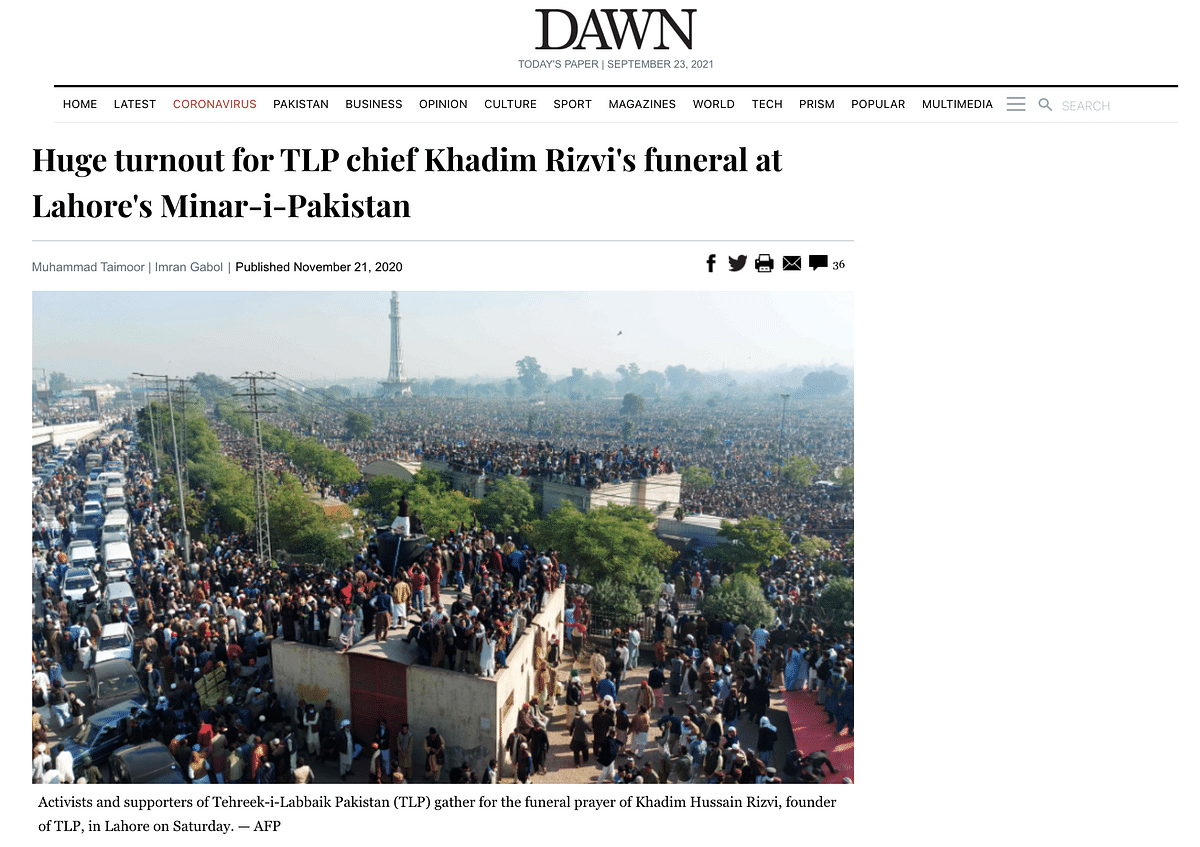 """<div class=""""paragraphs""""><p>Screengrab from the website of Pakistan based Dawn.&nbsp;</p></div>"""