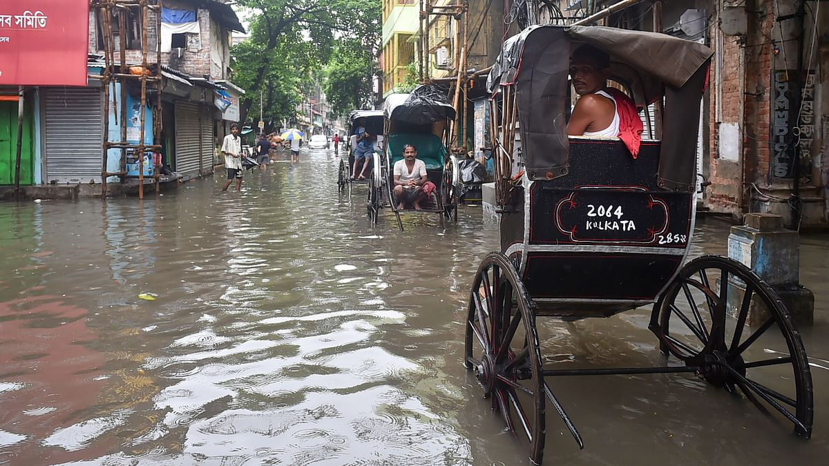 Kolkata Records Heaviest September Rain in 14 Years, Downpour Likely To Continue
