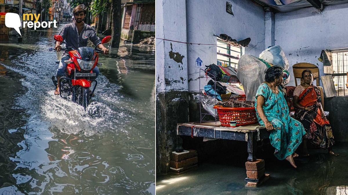 WB Rains: Wading Through Water to Earn a Living, Life is Not Easy in Kolkata