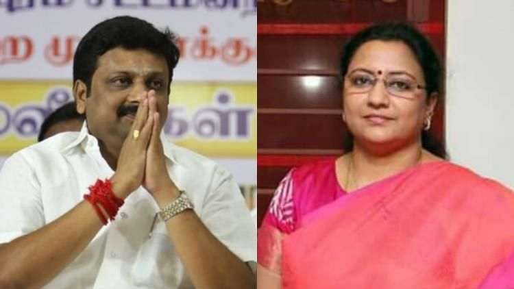 """<div class=""""paragraphs""""><p>The bypolls are being held to fill two vacancies created by AIADMK's KP Munusamy and R Vaithilangam who resigned to join the state Assembly.</p></div>"""