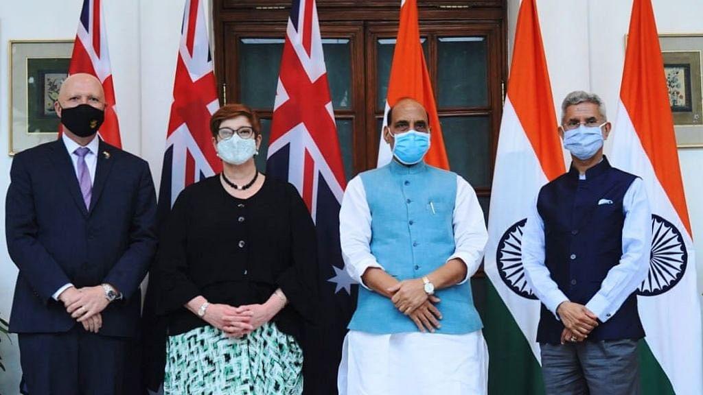 India-Australia End '2+2'  Talks, Focus on Afghanistan, COVID and China