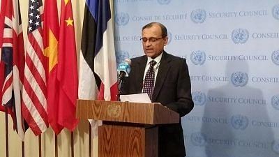 "<div class=""paragraphs""><p>TS Tirumurti presides over UNSC meeting.</p></div>"