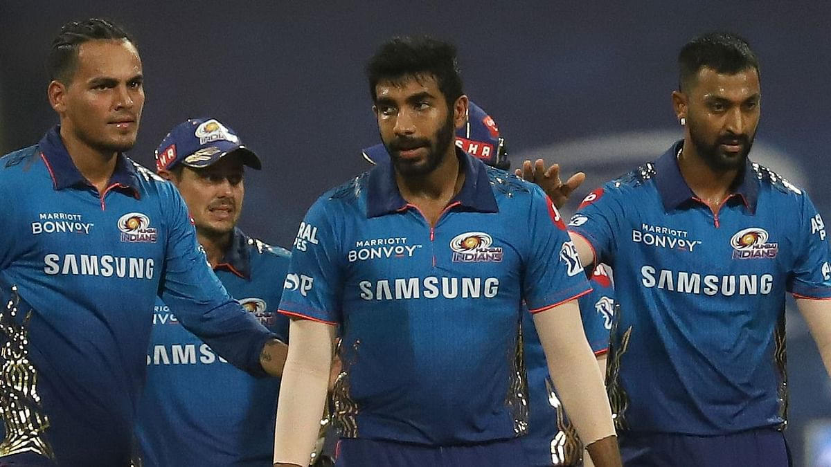 """<div class=""""paragraphs""""><p>Mumbai Indians have their task cut out in terms of qualification for the playoffs in IPL 2021.&nbsp;</p></div>"""