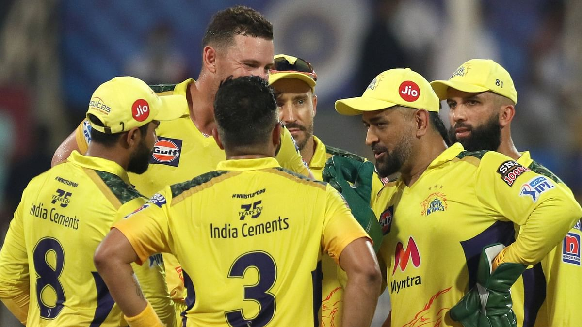 """<div class=""""paragraphs""""><p>IPL 2021: CSK have restricted SRH to 134/7.</p></div>"""