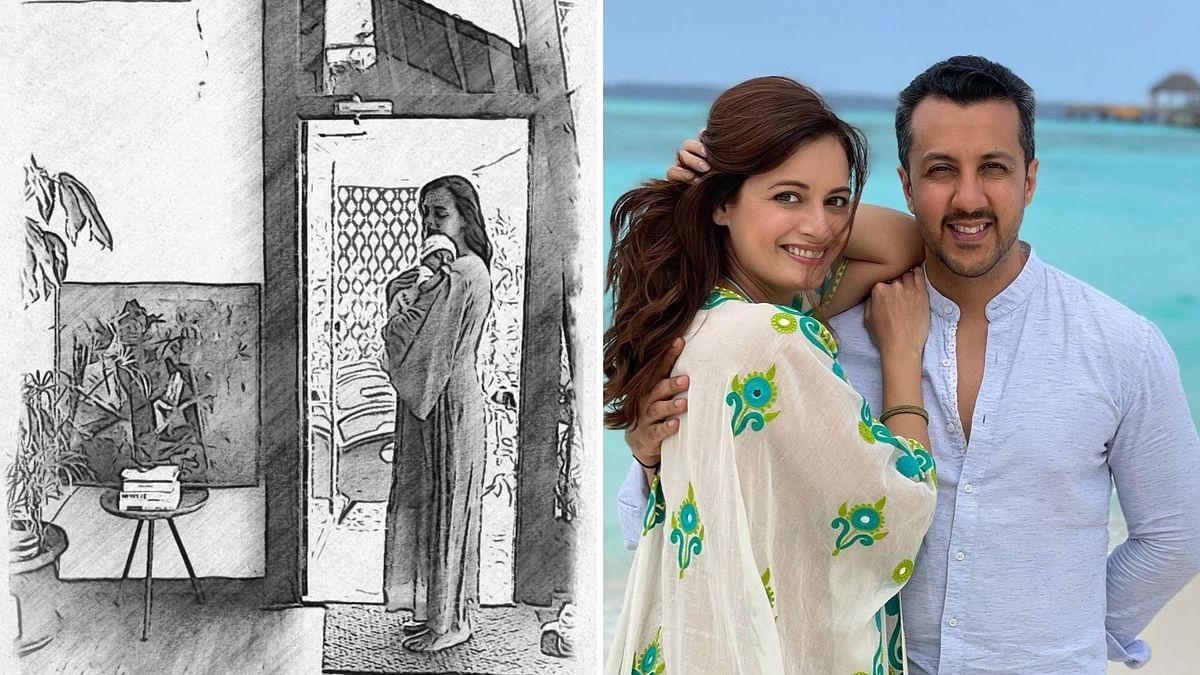 Dia Mirza Shares First Pic of Son Avyaan; Priyanka Chopra Reacts