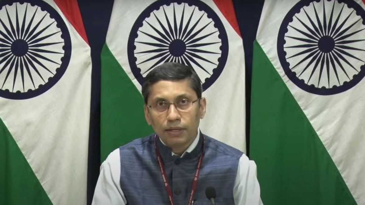 "<div class=""paragraphs""><p>File Photo: Ministry of External Affairs spokesperson Arindam Bagchi.&nbsp;</p></div>"