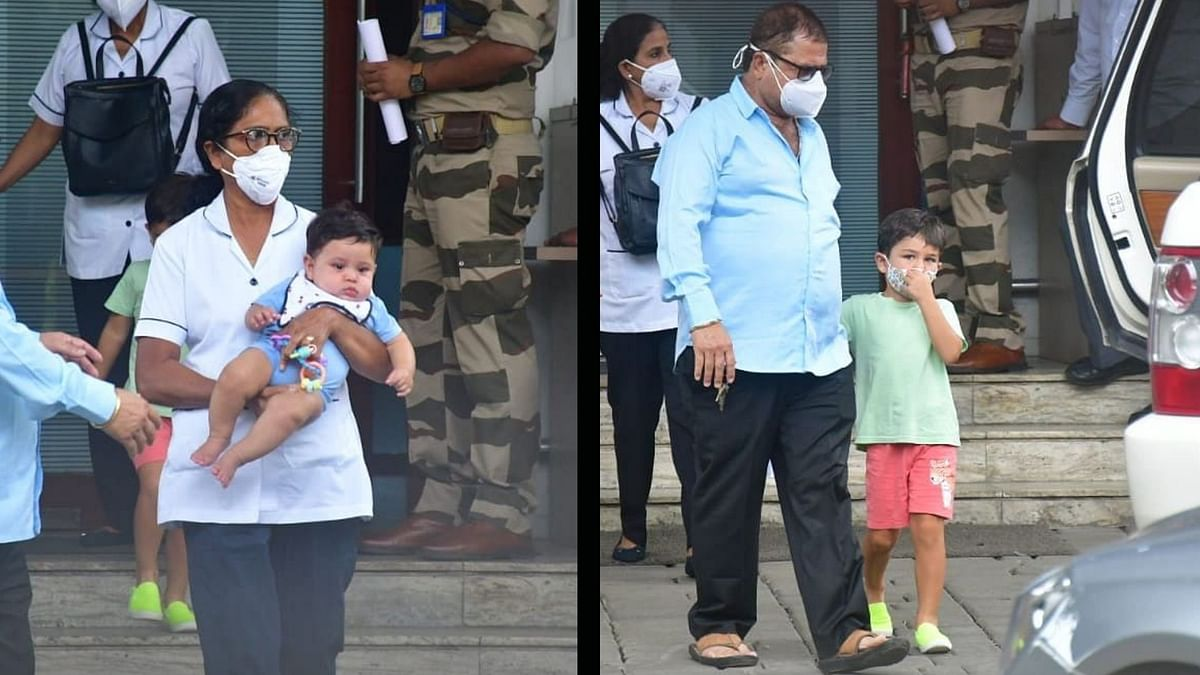 It's Not An Invasion of Privacy: Saif Ali Khan on Jeh & Taimur Getting Papped