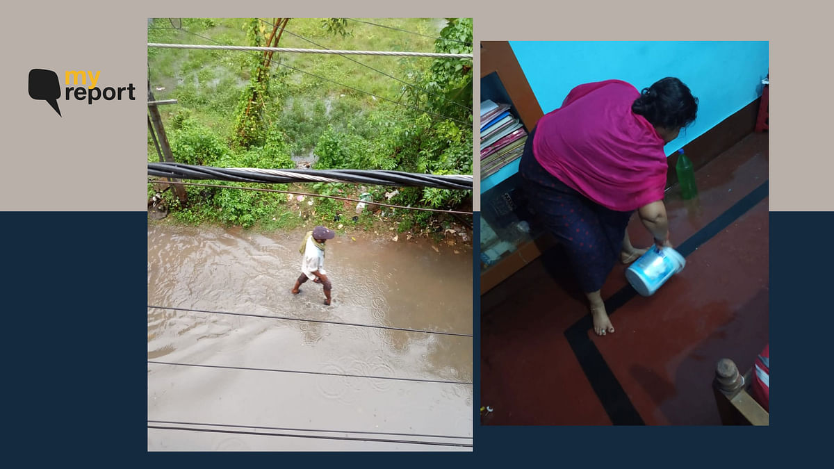 Heavy Rain, Poor Drainage System Turns My Cuttack Home Into Filthy Swimming Pool
