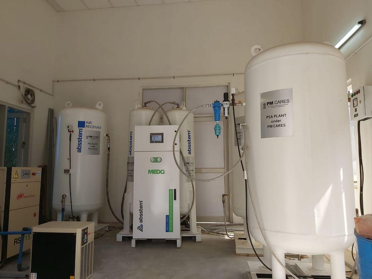 "<div class=""paragraphs""><p>A 200 LPM PSA oxygen plant installed and operational at&nbsp;Raja Harish Chandra Hospital in Narela, North Delhi.</p></div>"