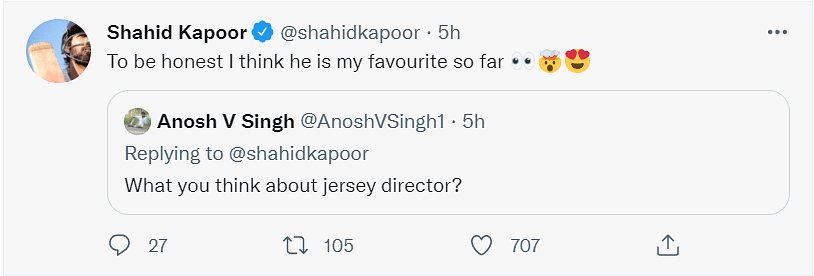He Made Me Cry: Shahid Kapoor Praises Nani's Performance in Jersey