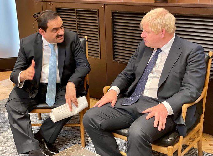 Gautam Adani Meets UK PM Boris Johnson, Talks Climate Change in London Summit