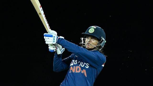 "<div class=""paragraphs""><p>Smriti Mandhana scored a half-century against Australia in the 3rd T20I</p></div>"