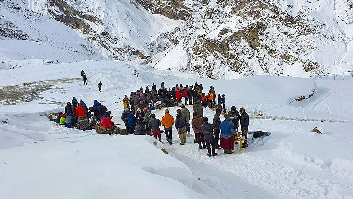 """<div class=""""paragraphs""""><p>Three trekkers have been reported dead in Himachal Pradesh's Kinnaur on Monday, 25 October, as heavy snowfall envelops the region. Representational photo.</p></div>"""