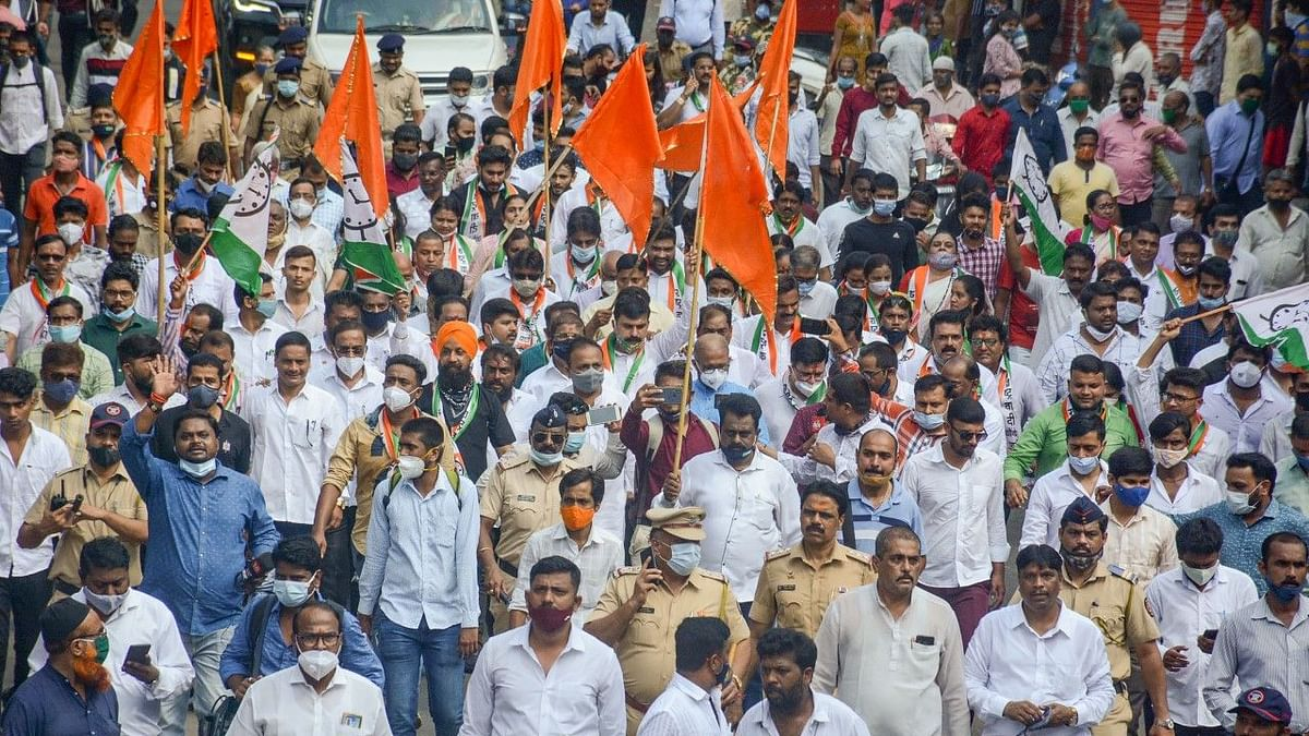 Maharashtra Bandh Over Lakhimpur: Case Against Unknown Persons for Bus Damage