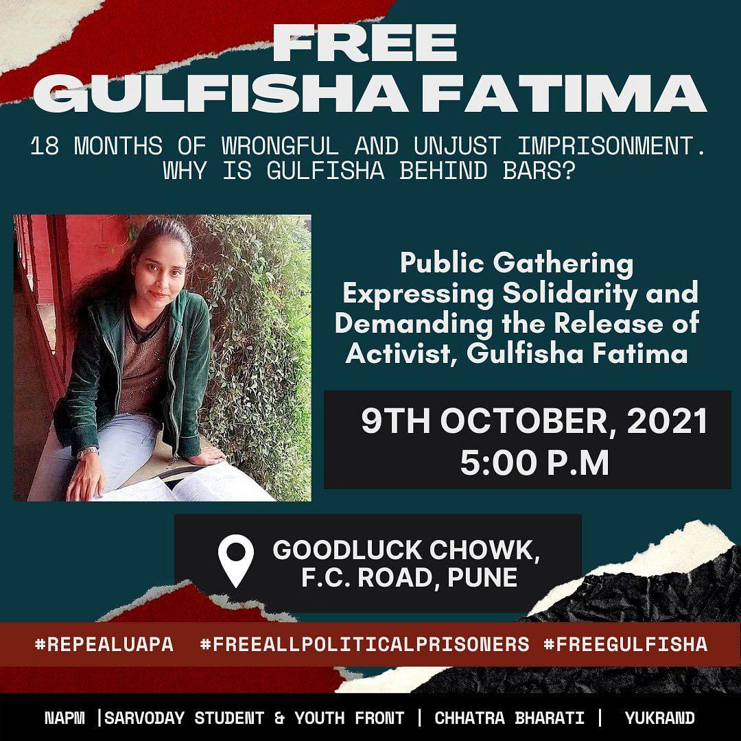 Delhi Riots: Groups Demand Release of UAPA Accused Gulfisha Fatima 18 Months On