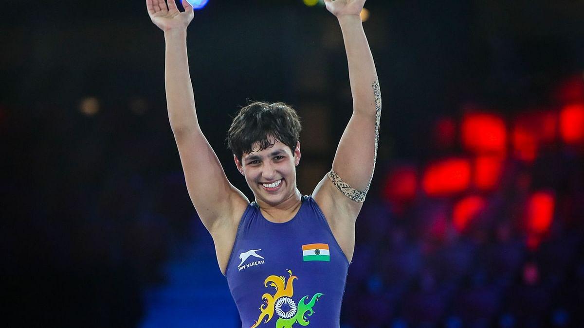 "<div class=""paragraphs""><p>Anshu Malik has won the silver medal at the wrestling world championships.</p></div>"