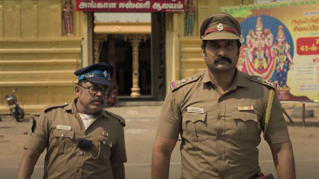 """<div class=""""paragraphs""""><p>Richard Rishi as Rudra in&nbsp;<em>Rudra Thandavam.</em></p></div>"""