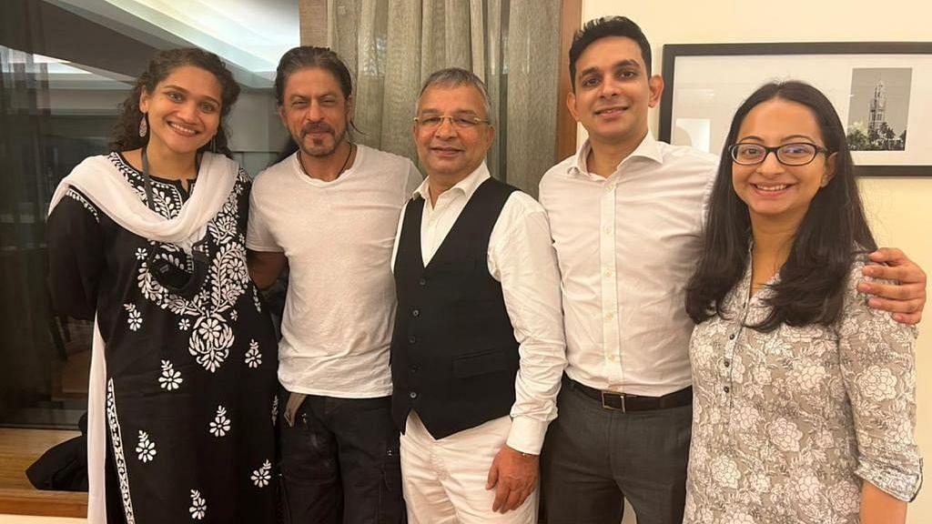 Shah Rukh Khan Meets Legal Team After Aryan Khan's Bail, See Pics