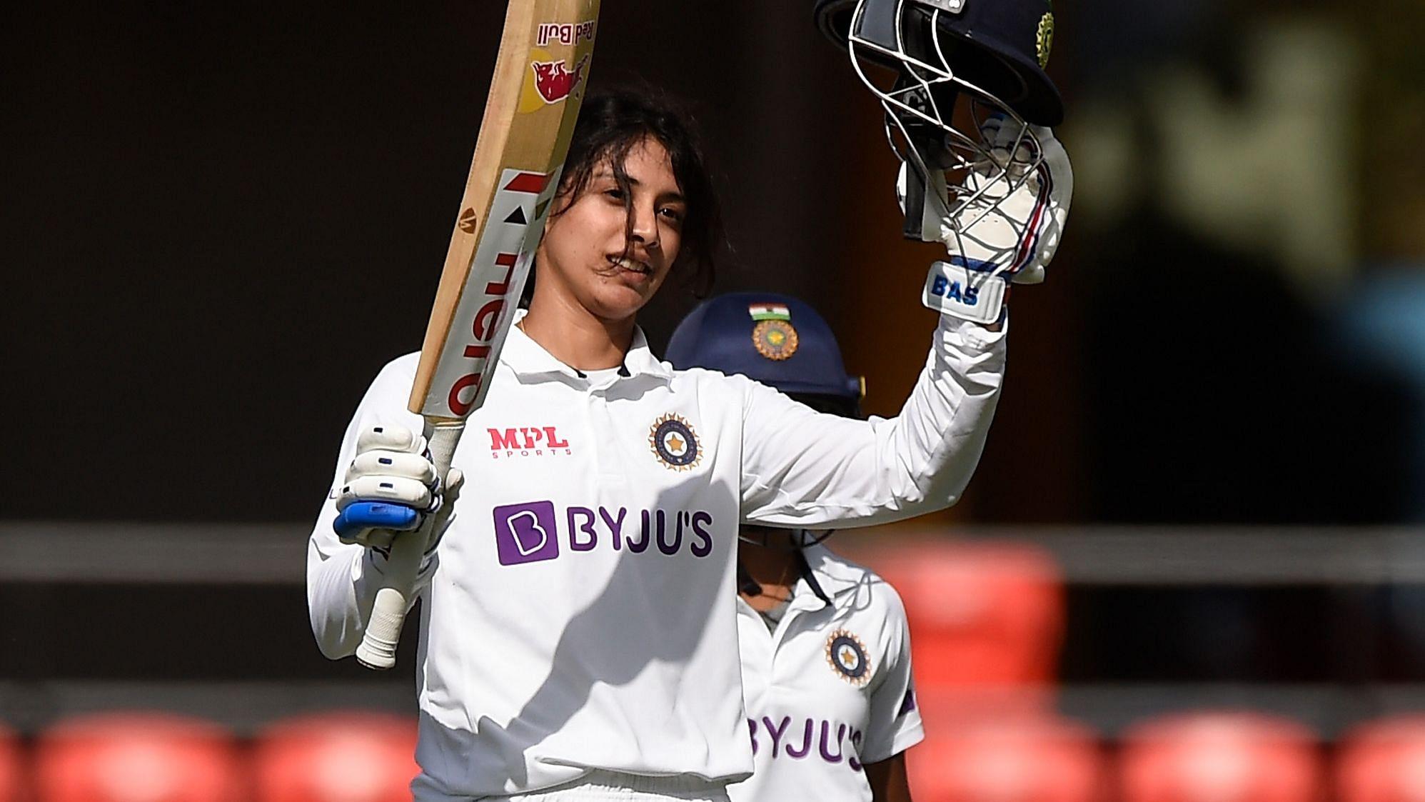 INDW vs AUSW Pink-Ball Test: Smriti Mandhana Scores First Test Century | KreedOn