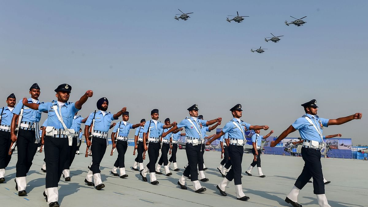 In Photos: India's Aircraft on Display as IAF Marks 89th Air Force Day