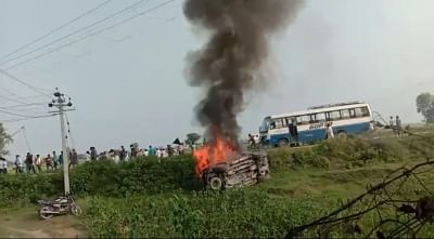 """<div class=""""paragraphs""""><p>Amid the uproar surrounding the Lakhimpur Kheri unrest, a second FIR was registered in connection with the case on Monday, 4 October, based on the complaint of a local BJP leader, Sumit Jaiswal.</p></div>"""