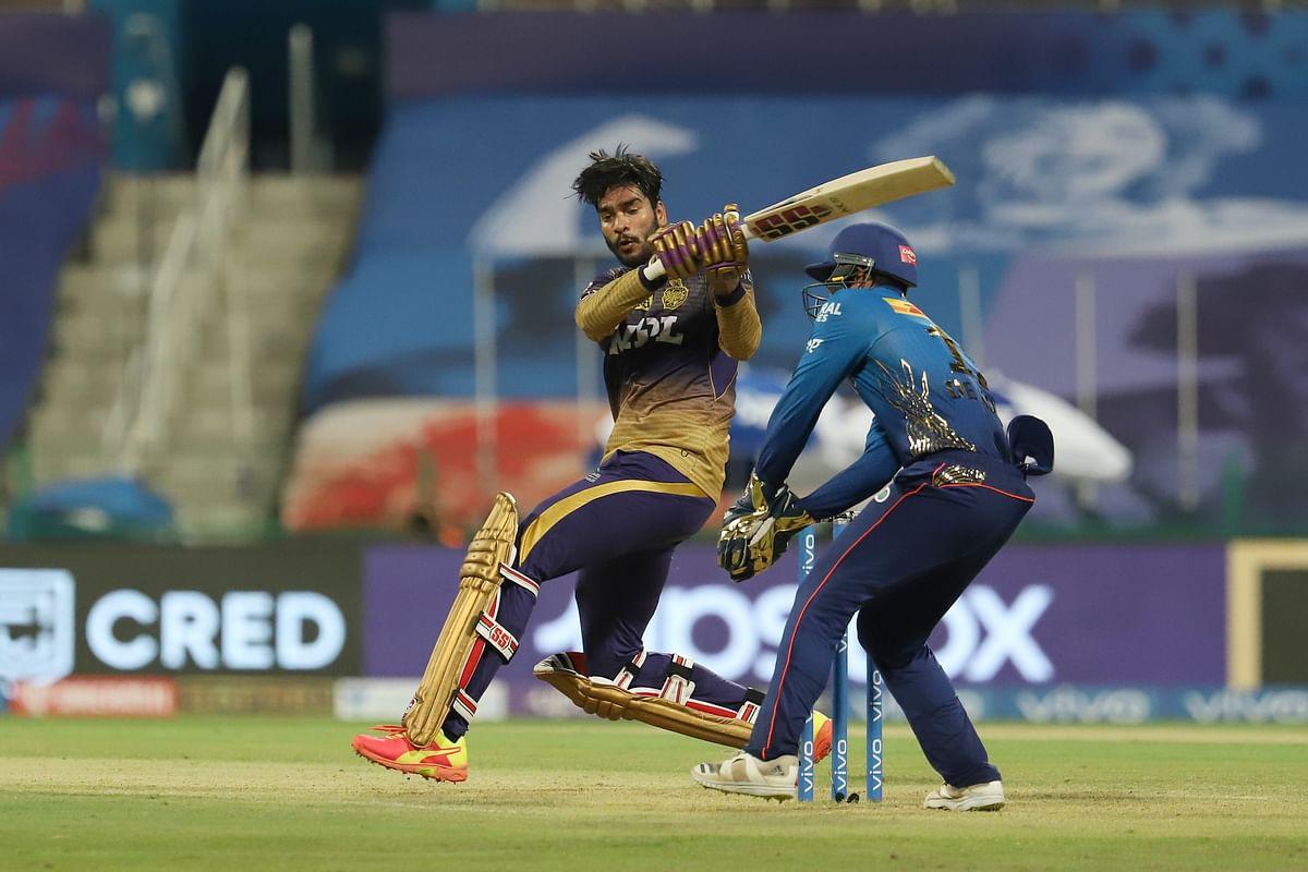 "<div class=""paragraphs""><p>Venkatesh Rajasekaran Iyer of Kolkata Knight Riders attempts for a reverse sweep.<br></p></div>"