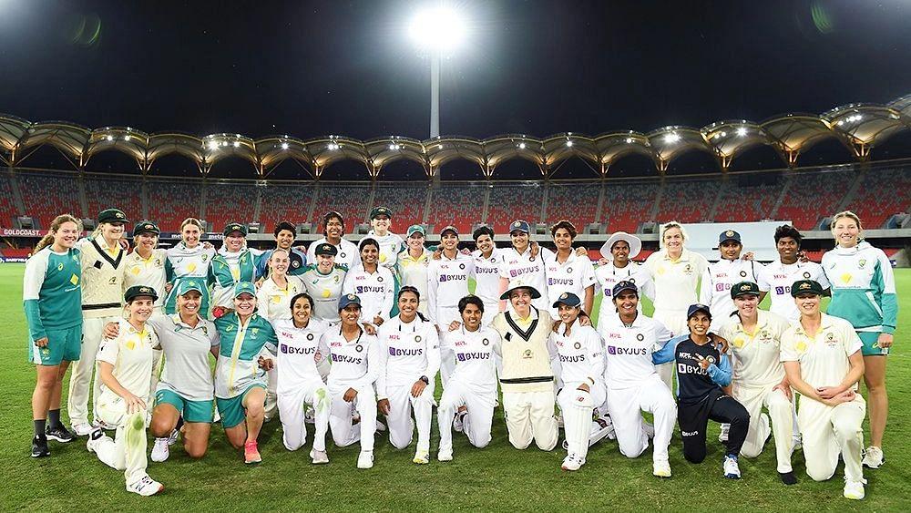 Indian Women Shine in Pink Ball Test Debut Against Australia; Match Drawn