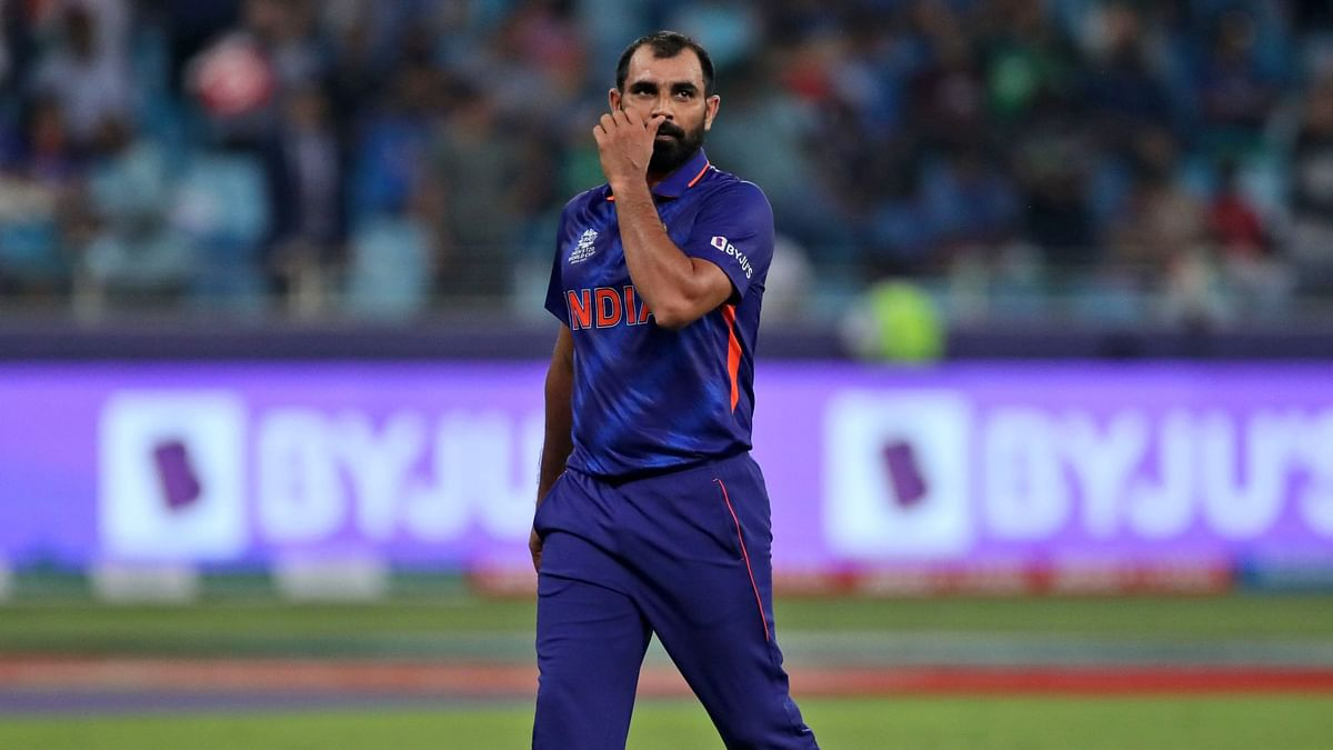 """<div class=""""paragraphs""""><p>Mohammed Shami was abused on social media following India's defeat against Pakistan.</p></div>"""