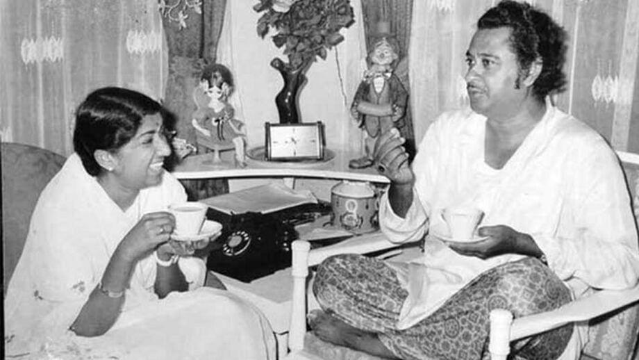 """<div class=""""paragraphs""""><p>Kishore Kumar and Lata Mangeshkar.</p></div>"""