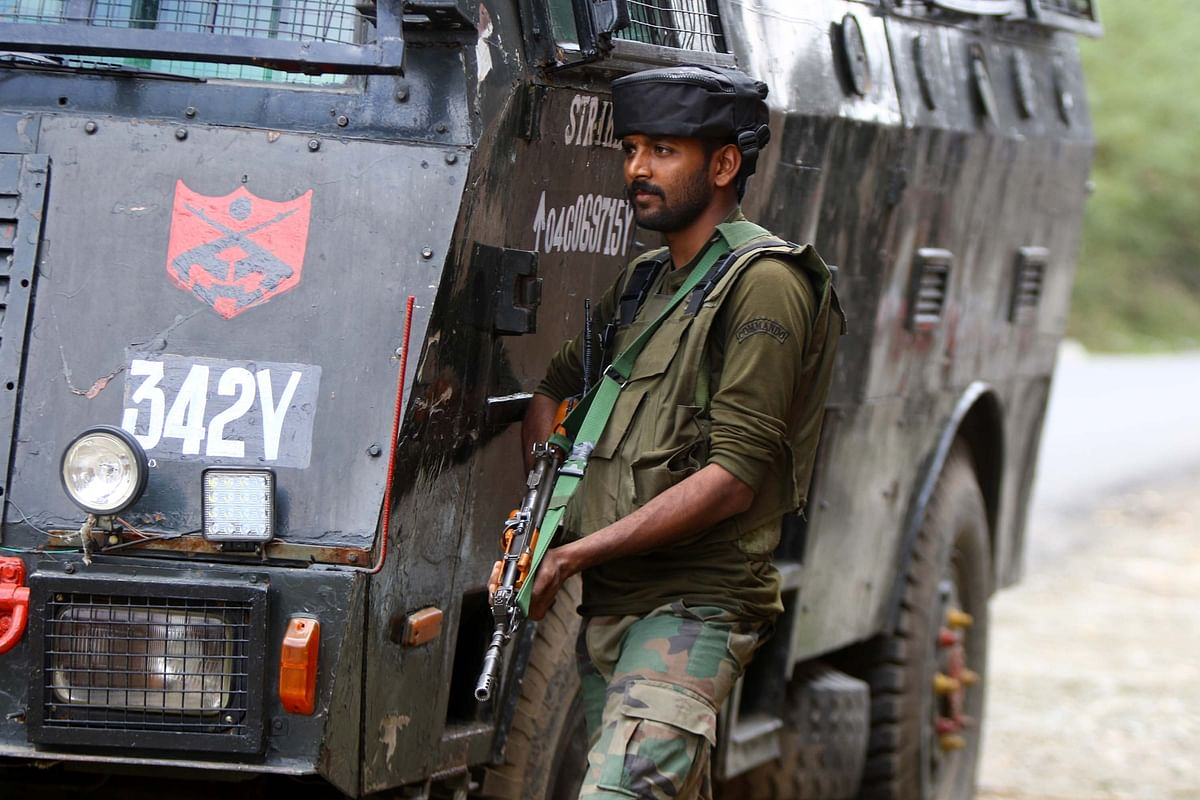 """<div class=""""paragraphs""""><p>At least seven militants and five army personnel, including a top officer have died in five encounters which occurred in Jammu and Kashmir in a span of 30 hours.</p></div>"""