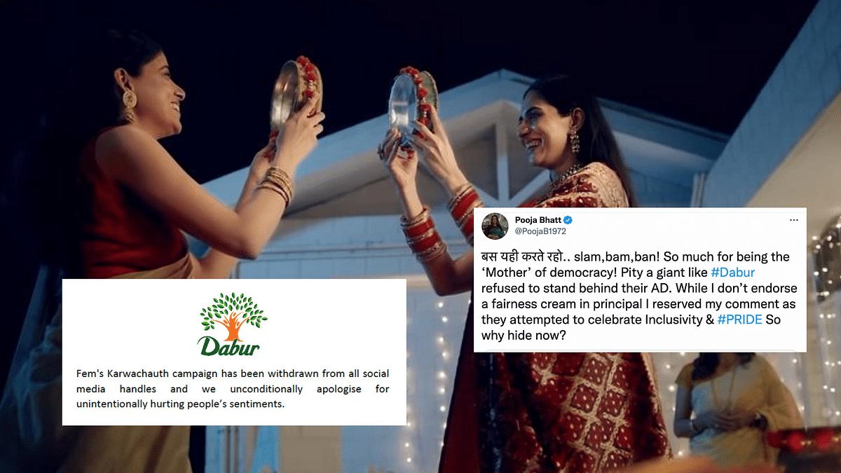 Dabur Withdraws Karwa Chauth Ad Featuring Same-Sex Couple, Twitter Reacts