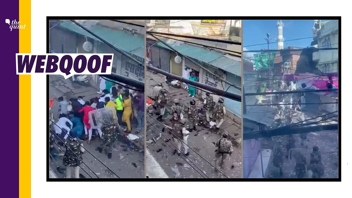 Video of Clashes in MP's Jabalpur on Eid  Falsely Shared as UP