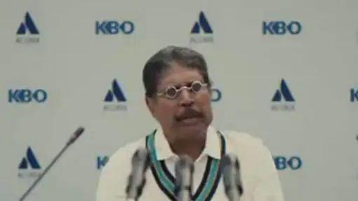 Watch: Kapil Dev Wears New Avatar On Cricket Field in Advert