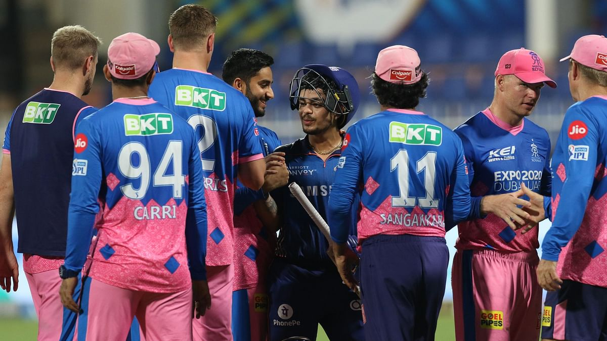 """<div class=""""paragraphs""""><p>Mumbai Indians beat Rajasthan Royals by 8 wickets.</p></div>"""