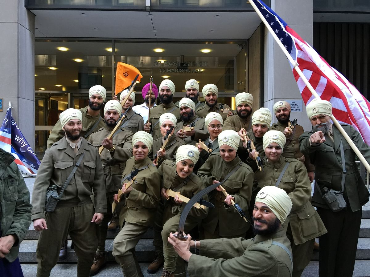 """<div class=""""paragraphs""""><p>Lt Col Kalsi at Sikh Day Parade, NYC 2015.</p></div>"""