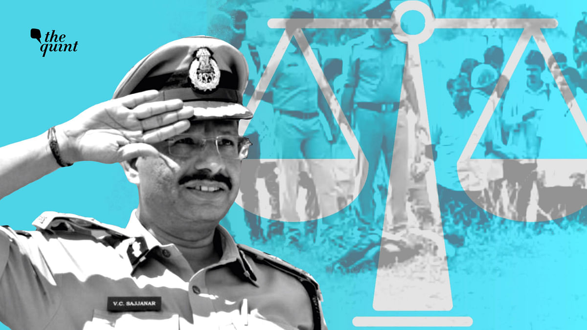 """<div class=""""paragraphs""""><p>Former Cyberabad Police Commissioner VC Sajjanar was questioned by Justice Sirpurkar commission set up by the Supreme Court.</p></div>"""