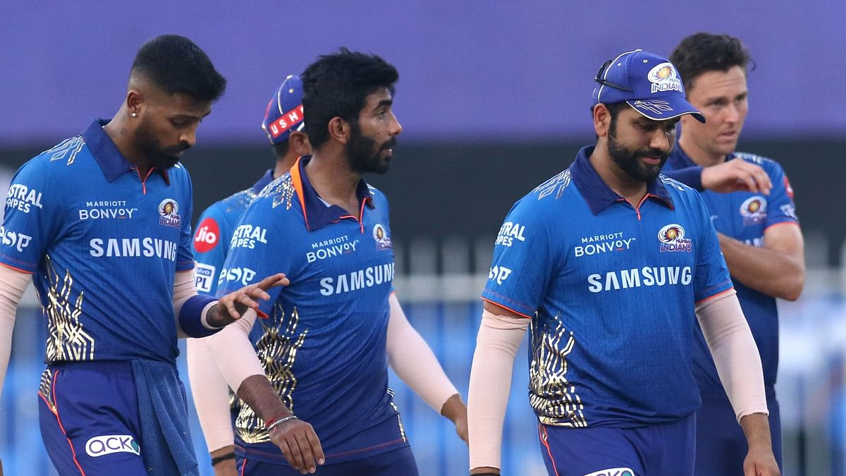 """<div class=""""paragraphs""""><p>Mumbai Indians were beaten by Delhi Capitals in Saturday's evening match.</p></div>"""