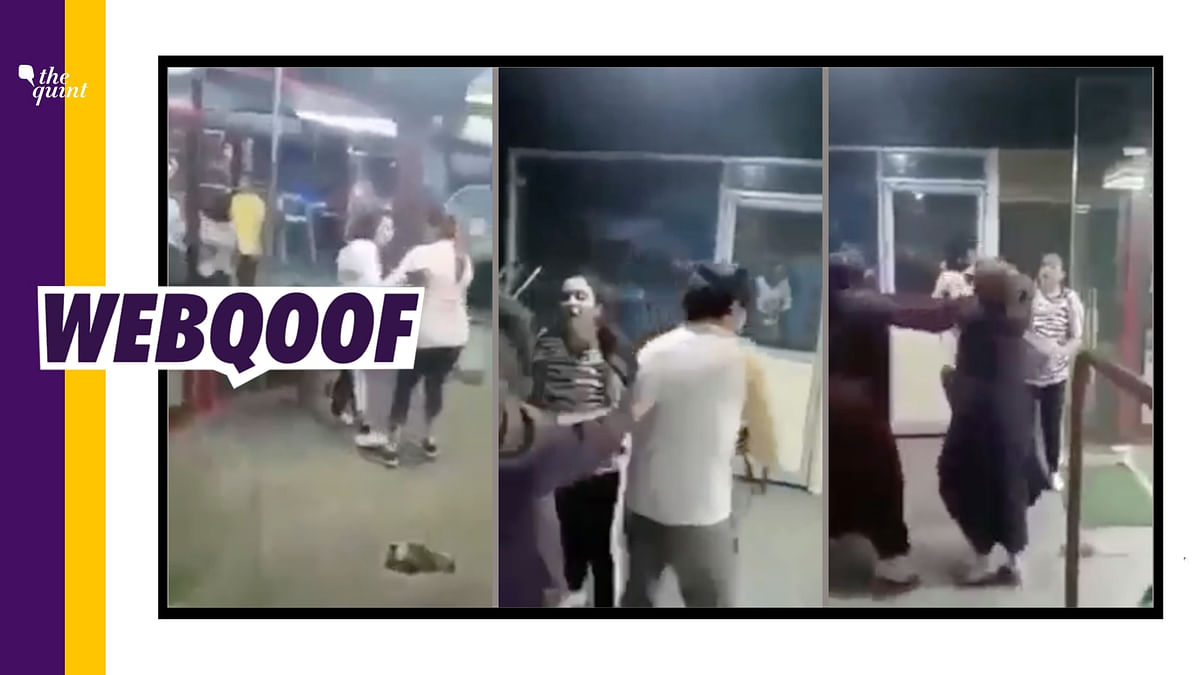"""<div class=""""paragraphs""""><p>The video claims that a Hindu woman was being assaulted for an alleged extra-marital affair.&nbsp;</p></div>"""