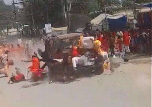 One Dead as Speeding Car Mows Down Dussehra Procession in Jashpur, Chhattisgarh