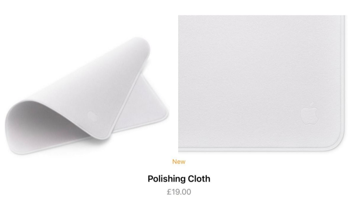 Apple's New Polishing Cloth Worth Rs 1900 Has Twitter On a Roll