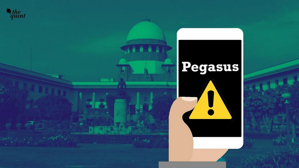 """<div class=""""paragraphs""""><p>Hailing the Supreme Court's order on the <a href=""""https://www.thequint.com/news/law/pegasus-probe-what-is-technical-committee-supposed-to-investigate-powers-recommendations"""">Pegasus row</a> as a good step, the Internet Freedom Foundation's Apar Gupta and Centre for Communication Governance's Gunjan Chawla on Wednesday, 27 October, pointed out that we still need to wait for the results. Image used for representation purpose.</p></div>"""