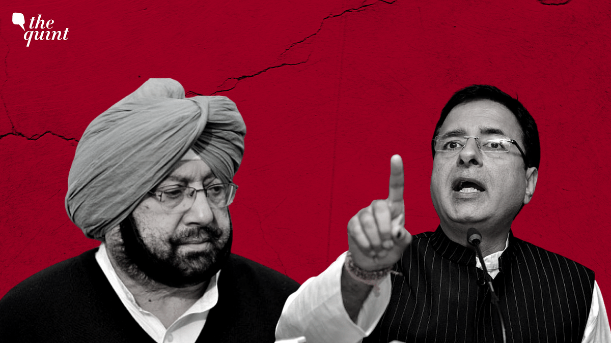 'Congress in State of Panic': Amarinder  on Surjewala's '78 MLAs Revolted' Claim