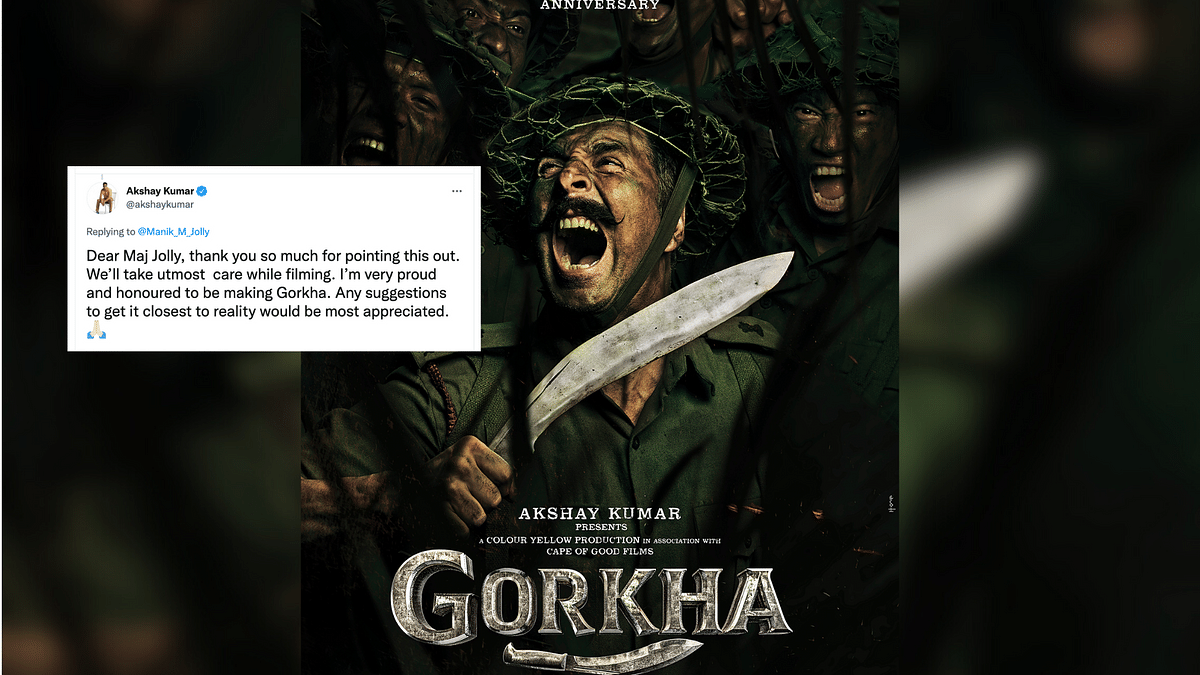 Akshay Kumar Thanks Ex Army Officer for Pointing Out Mistake in Gorkha Poster