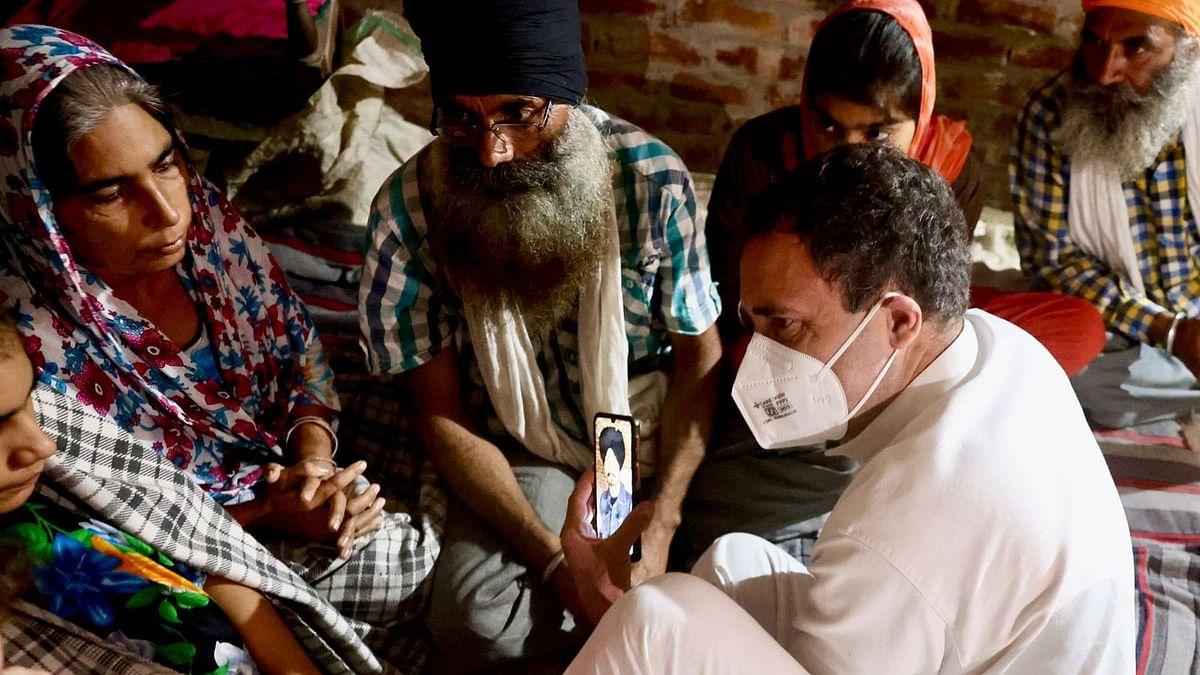 Lakhimpur Kheri| Rahul, Priyanka Gandhi Meet Kin of Deceased Farmers