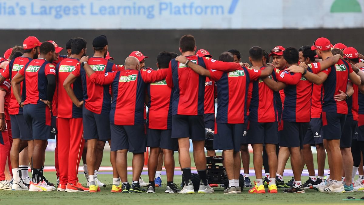 """<div class=""""paragraphs""""><p>Punjab Kings are playing KKR in the IPL 2021 match.</p></div>"""